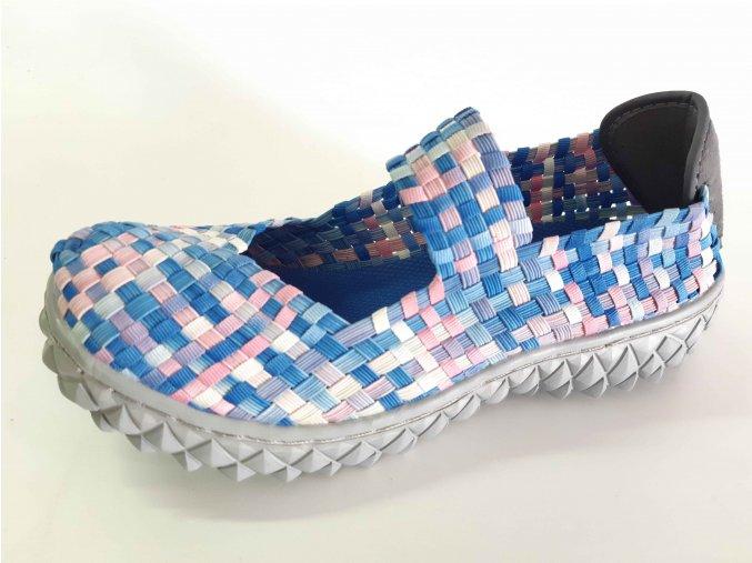Rock Spring gumičková obuv Over W Aquarel