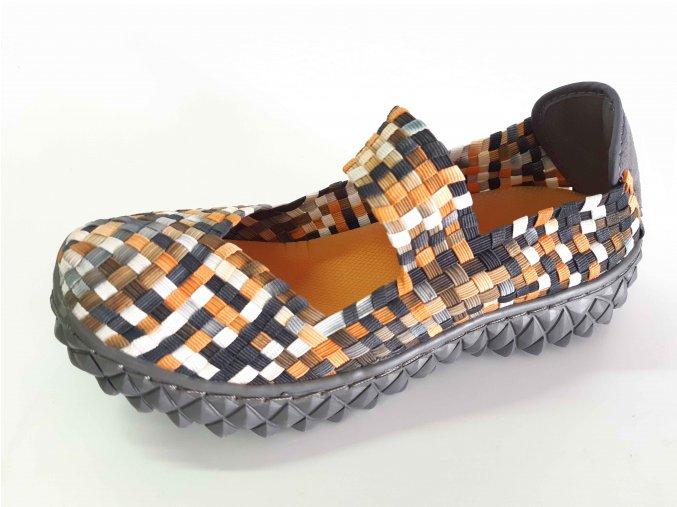 Rock Spring gumičková obuv Over W Redwood