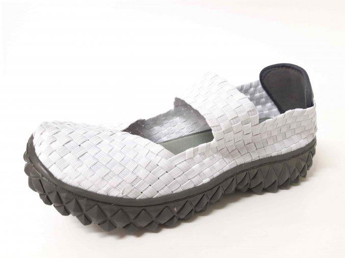Rock Spring gumičková obuv Over White