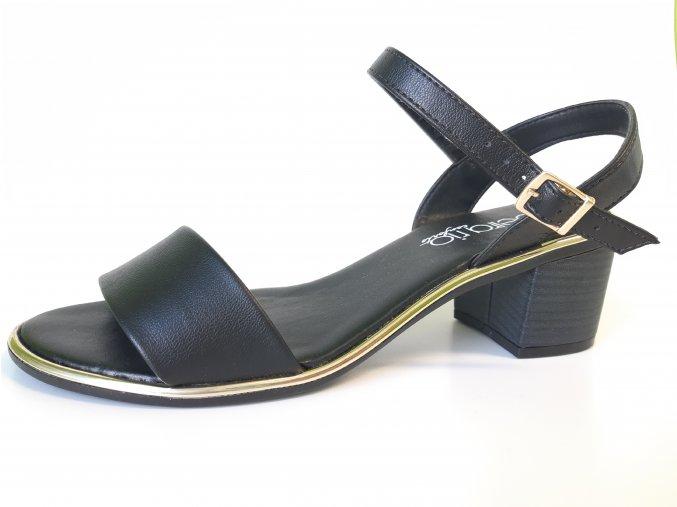 Sandálky Beira 8379.103 černé