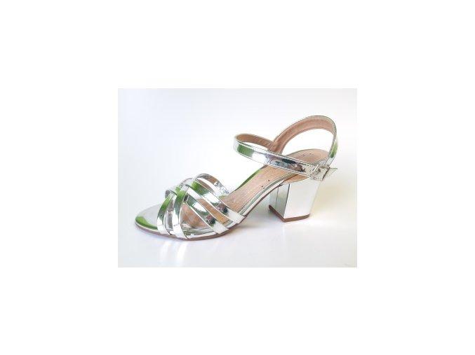 BeiraRio dámské sandály 8280.248 stříbrné