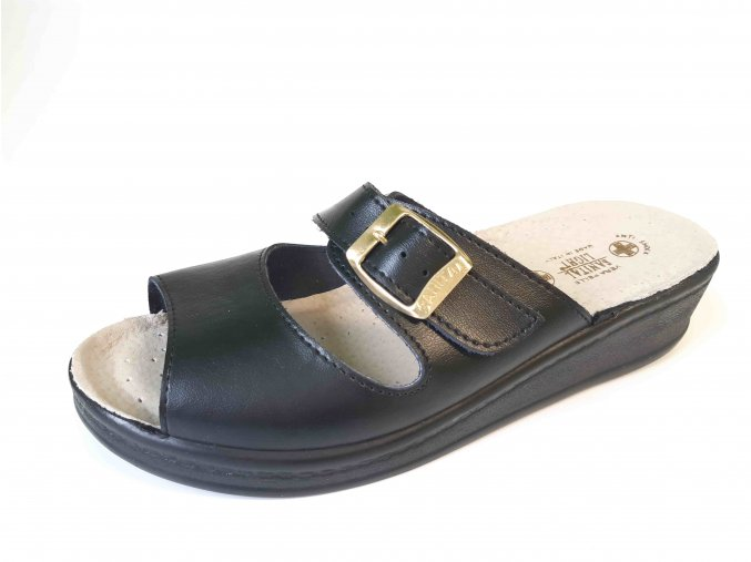 Sanital Light dámská zdravotní obuv 1363 černá