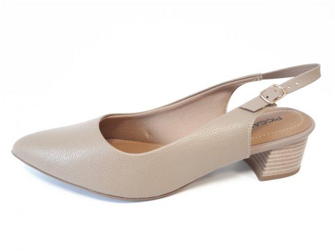 Piccadilly sandály 738 001-30 béžové