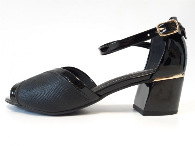 Piccadilly sandály 542 088-3 černá