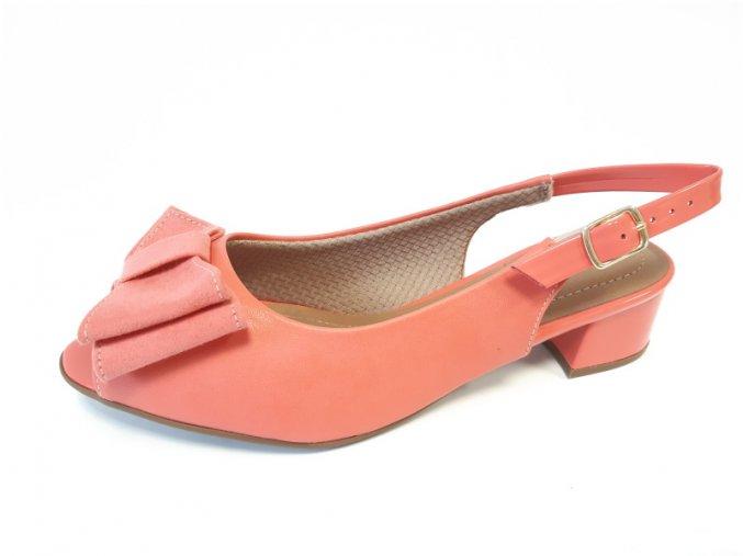 Piccadilly sandály 114 022-9 korálové