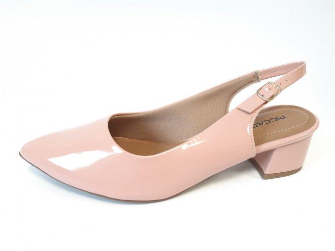 Piccadilly sandály 738 001-29 růžové