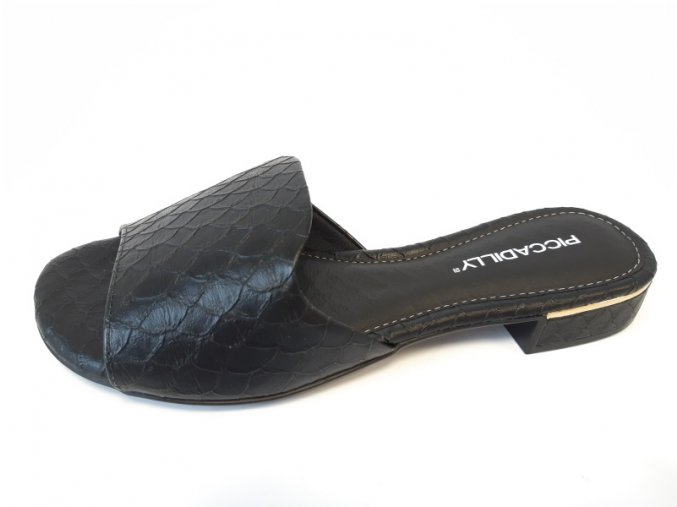 Piccadilly pantofle 558 011-8 černé