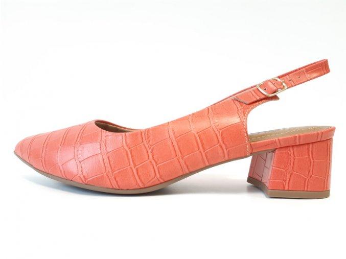 Piccadilly sandály 738 001-11 korálové