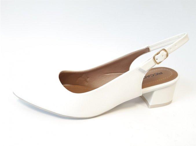 Piccadilly sandály 738 001-1 bílé