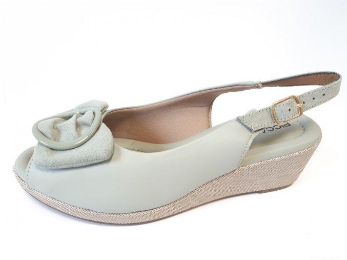 Piccadilly sandály 438 002-1 mentolové