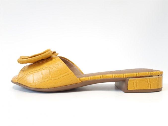 Piccadilly pantofle 558 007-24 žluté