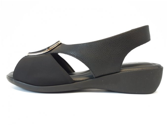 Piccadilly sandály 416 077-5 černé