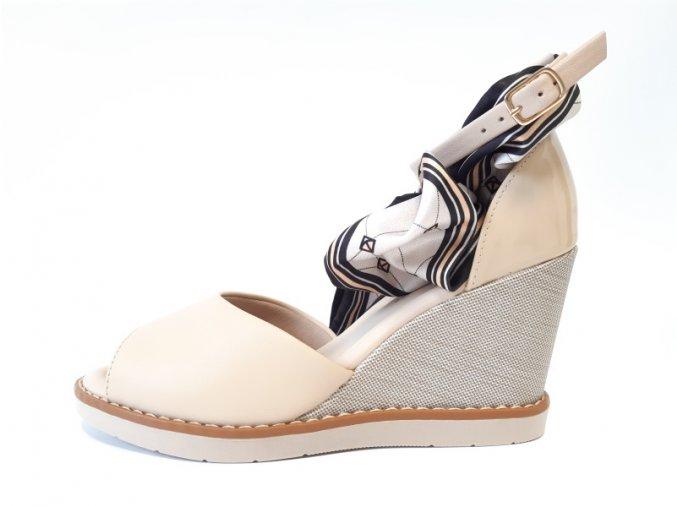 Piccadilly sandály 428 013-9 béžové
