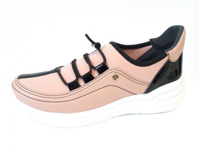 Piccadilly tenisky 959 003-4 růžové