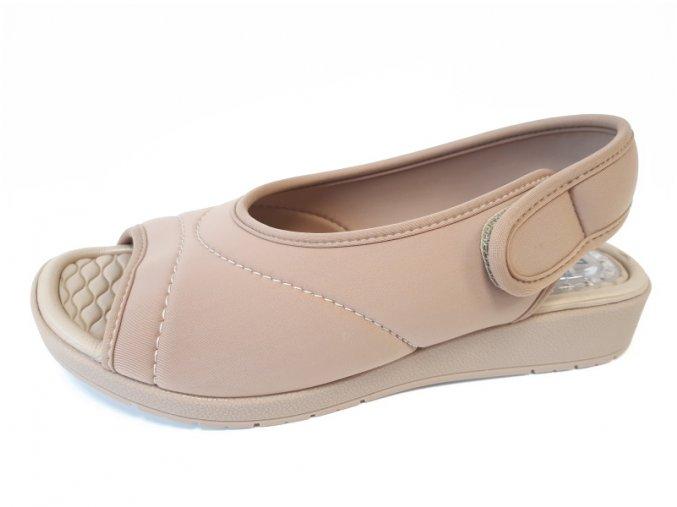 Piccadilly sandály 561 024-8 hnědé