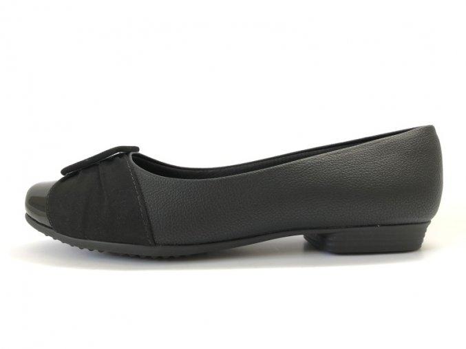 Piccadilly baleríny 251 065-6 černé