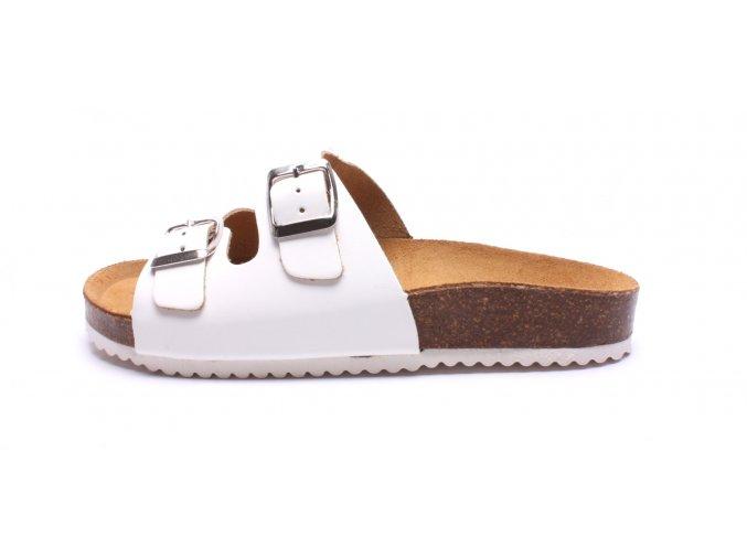 Mediline dámské pantofle 2/C bílé (Velikost 42)