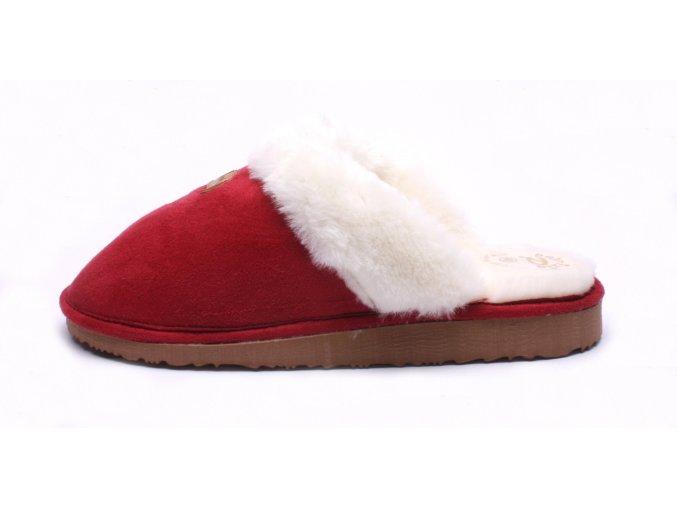 Patrizia dámské domácí pantofle AZ80 červené