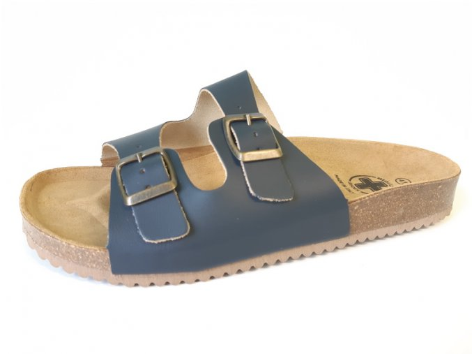 Mediline dámské pantofle 2/C modré (Velikost 42)
