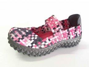 Rock Spring gumičková obuv Over Black Flamengo