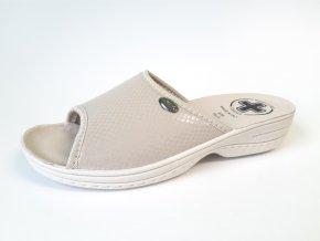 Mediline dámské pantofle 511 béžové (Velikost 41)