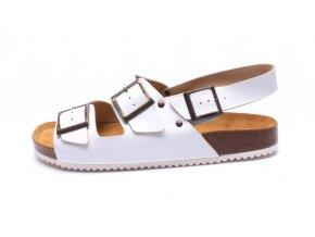 Mediline pánské pantofle 2BIS bílé (Velikost 46)