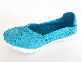 Rock Spring gumičková obuv Carioca Met Blue
