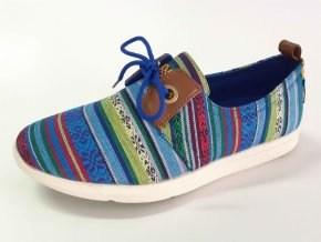 Rock Spring dámská obuv Sector Laces Blue Multi