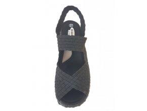Rock Spring gumičková obuv Rihana Black