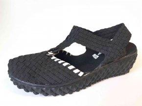 Rock Spring gumičková obuv Praia Inka Black White