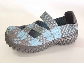 Rock Spring gumičková obuv Cross Light Blue/Grey
