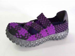 Rock Spring gumičková obuv Cross Violet/Black