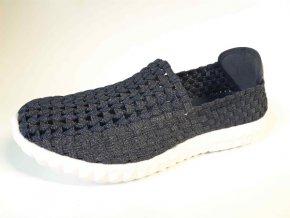 Rock Spring gumičková obuv Cali Met Navy Silver