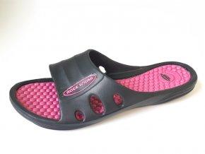 Rock Spring dámské pantofle Borneo růžové (Velikost 41)