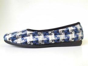 Patrizia dámská domácí obuv CA04 modrá