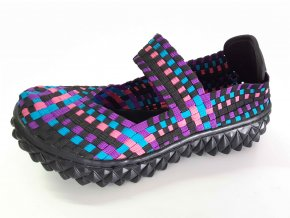 Rock Spring gumičková obuv Over W Plumb Mix