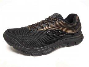Olympikus pánská sportovní obuv Proof Black/Gold