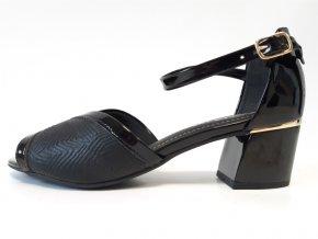 Piccadilly sandály 542088-3 černá