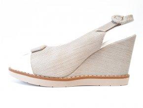 Piccadilly sandály 428 010-6 béžové