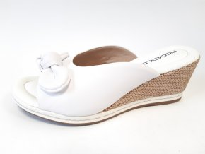 Piccadilly pantofle 408 148-1 bílé