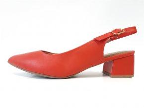 Piccadilly sandály 738 001-9 červené