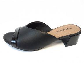 Piccadilly pantofle 524 006-1 černé