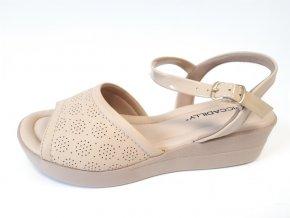 Piccadilly sandály 530 052-6 béžové