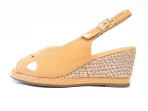 Piccadilly sandály 408 150-5 žluté
