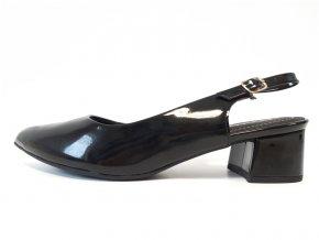 Piccadilly sandály 738 001-27 černé