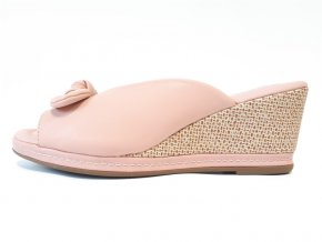 Piccadilly pantofle 408148-6 růžové