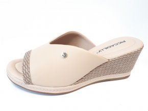 Piccadilly pantofle 408 149-3 béžové