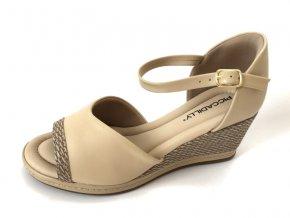 Piccadilly sandály 408 152-4 béžové