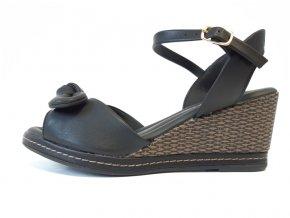 Piccadilly sandály 408 132-15 černé