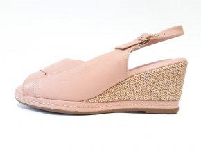 Piccadilly sandály 408 150-4 růžové